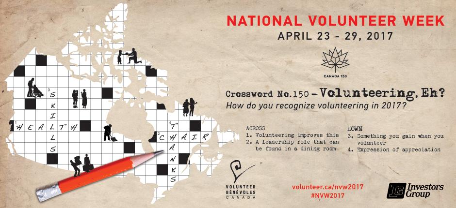 National Volunteer Week 2017 Web Banner