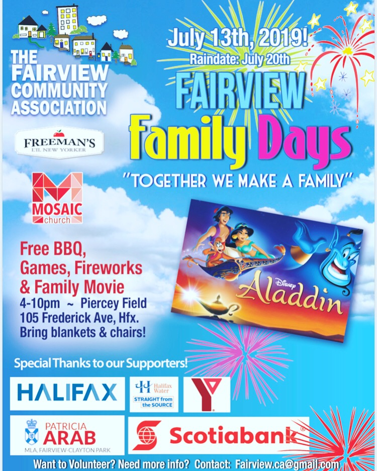 Fairview Family Day Logo