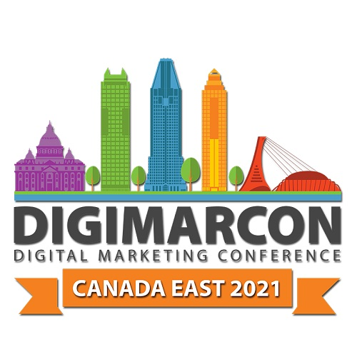 DigiMarCon Canada East 2021 - Digital Marketing, Media and Advertising Conference & Exhibition Logo