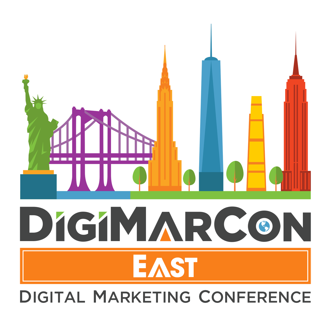 DigiMarCon Canada East 2022 - Digital Marketing, Media and Advertising Conference & Exhibition Logo