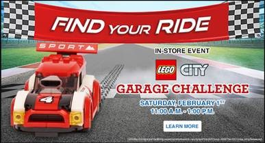 LEGO® CITY Garage Challenge Logo