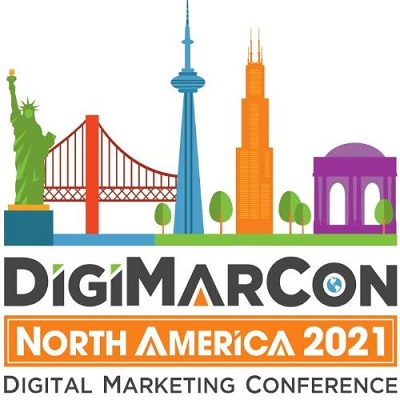 DigiMarCon North America 2021 - Digital Marketing, Media and Advertising Conference Logo