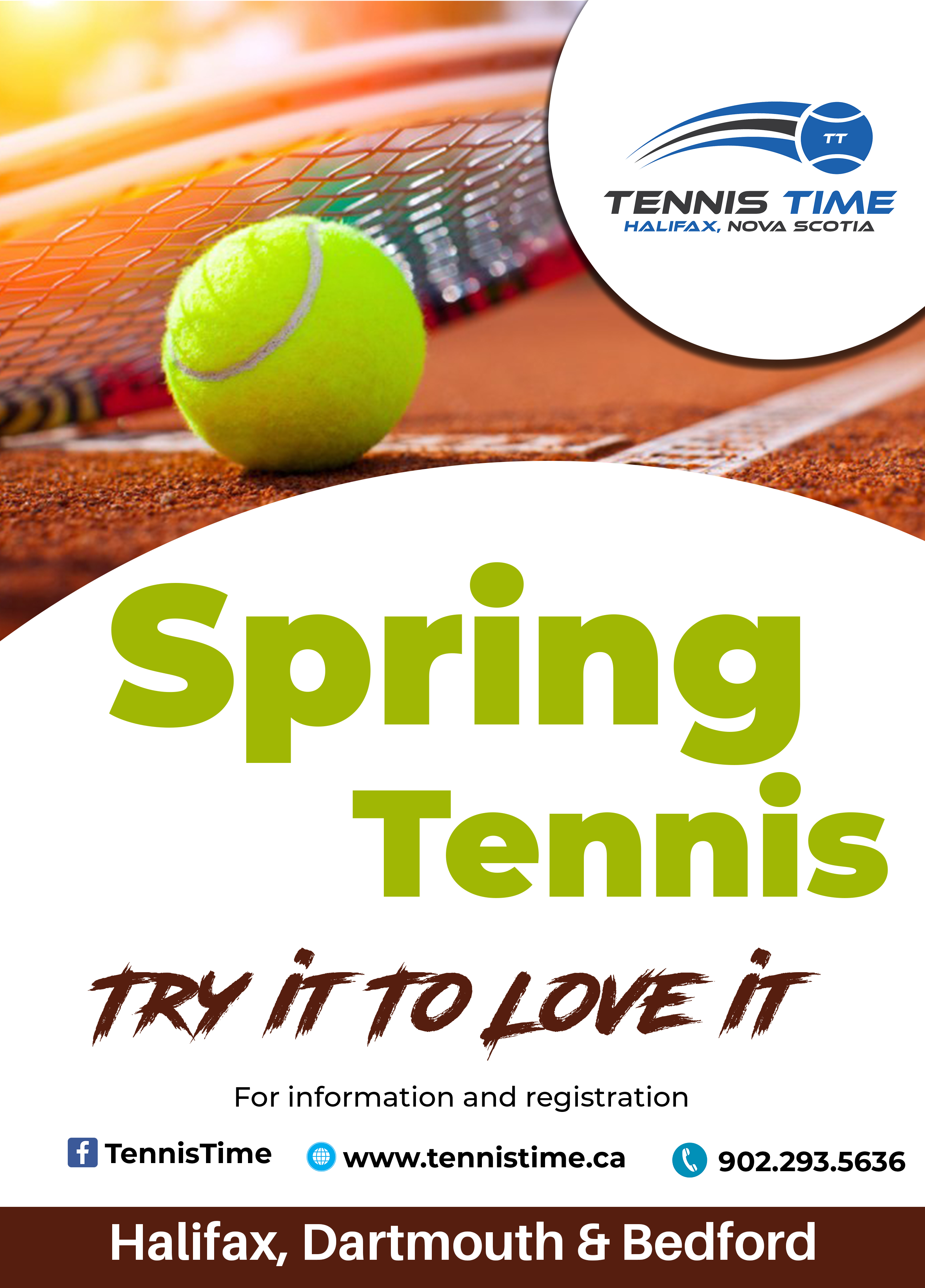 Adult Group Tennis Lessons Logo