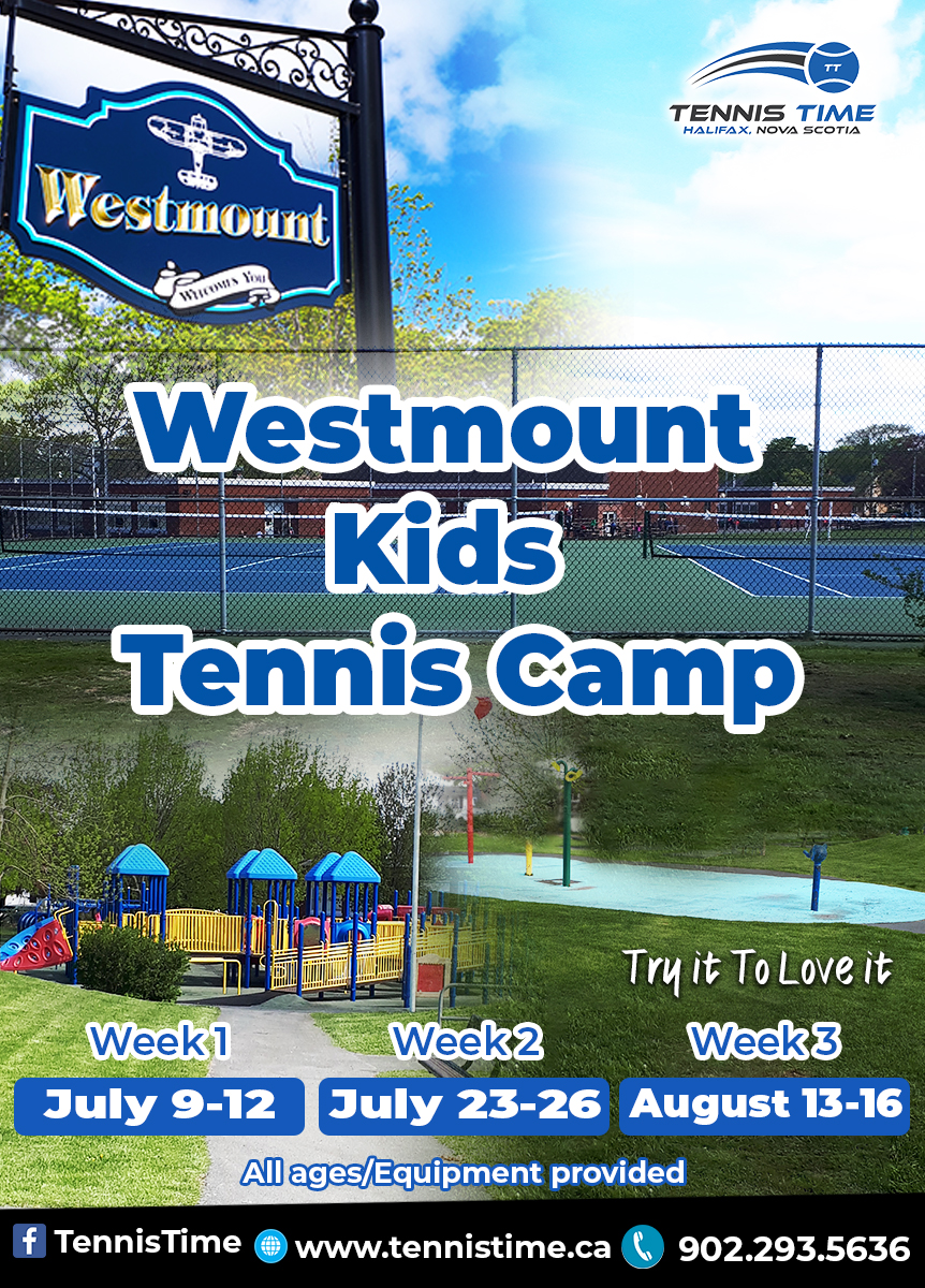 Westmount Kids Tennis Camps/ Commons Kids Camps Logo