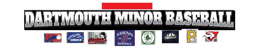 Dartmouth District Minor Baseball Association (DDMBA) Logo