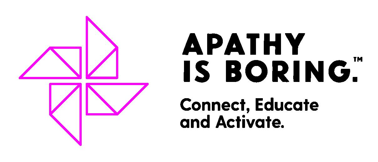 Apathy is Boring Logo