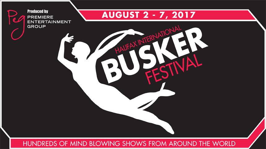 Halifax Busker Festival Logo