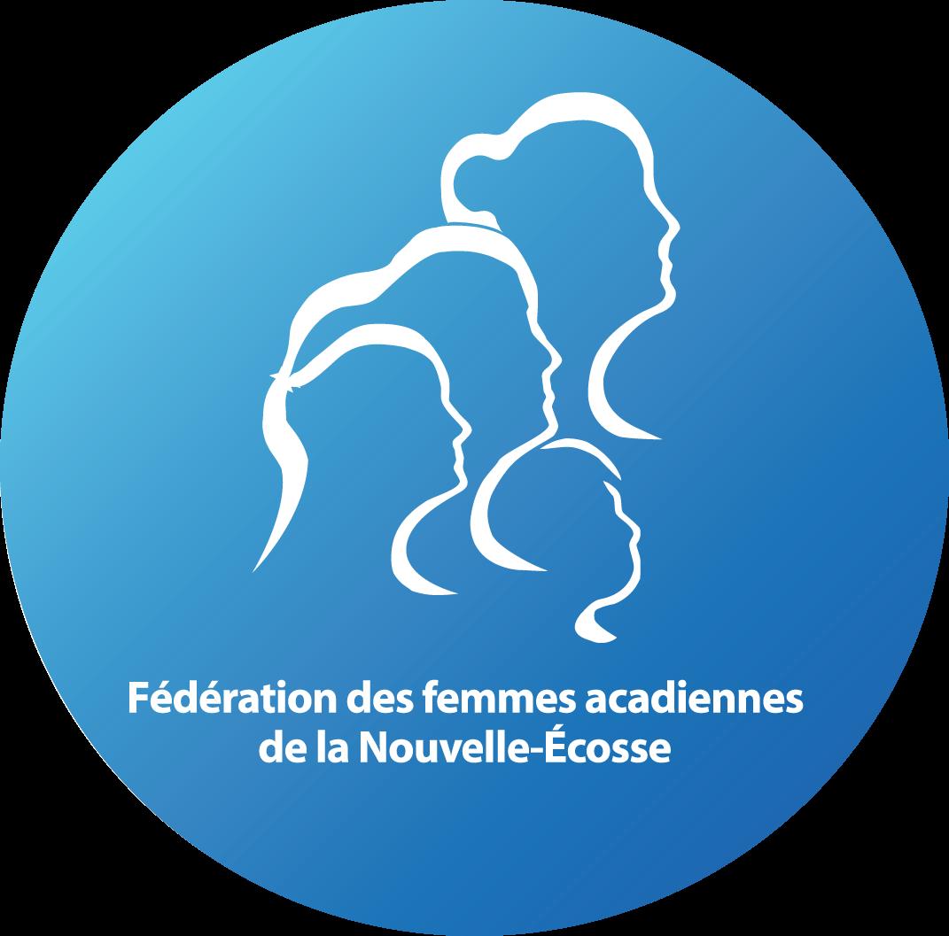 Fédération des femmes acadiennes de la Nouvelle-Écosse Logo