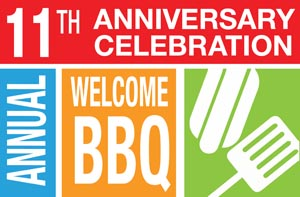 The 11th Annual Welcome BBQ Logo