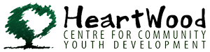 HeartWood Centre for Community Youth Development Logo