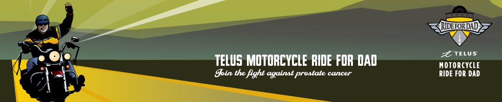 Motorcycle Ride for Dad - Halifax Chapter Logo