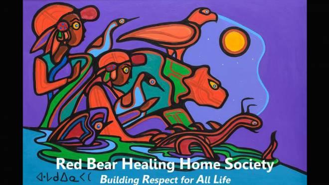 Red Bear Healing Home Society Logo